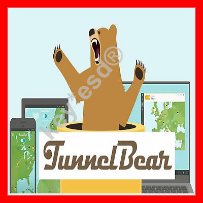 TunnelBear VPN |+| 5.5 GB |+| WINDOWS | MAC | iOS | ANDROID | INSTANT DELIVERY