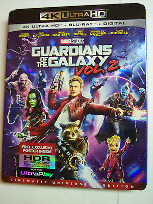 Guardians of the Galaxy Vol. 2 w/Slipcover (4K Ultra HD,  Blu-ray,  Digital HD)