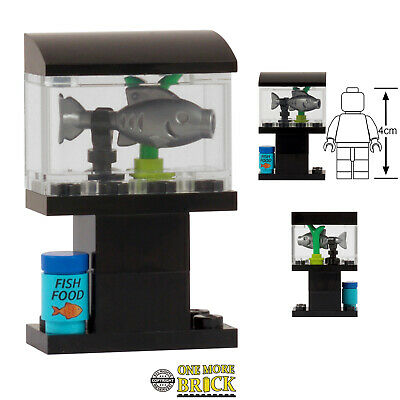 Custom Model LEGO Fish NEW Marine aquarium underwater scene