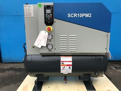 NEW! 7.5kW Screw Compressor, Permanent magnet, high efficiency, low noise!
