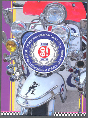 Isle of Man-Motor Scooter Rally-2018 special sheet mnh & Folder