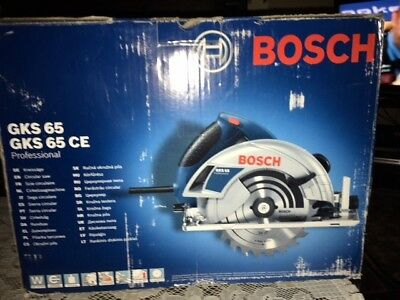 Bosch GKS 65 Profesional Circular Saw 110v, Never used or been out of box.