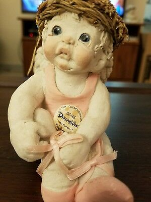 "Dreamsicles Angel Cherub ""Ballet Star"" Cast Art by Kristin 1994"