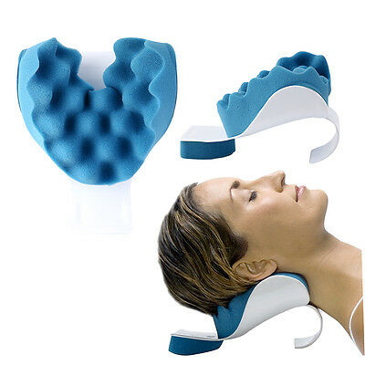 New Theraputic Neck Support Tension Reliever Neck And Shoulder Relaxer MLPGH