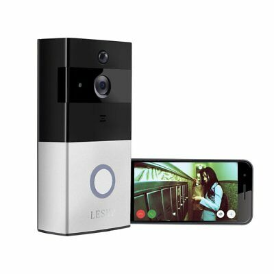 Wireless WiFi Battery Video Doorbell Phone Remote PIR Motion Home Securit NEW