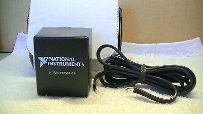 NATIONAL INSTRUMENTS POWER SUPPLY m/n 13663 input 120vac output 20vdc 800mA