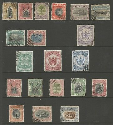 North Borneo 1897-1902 Used Selection Of 18 Stamps,see Scan
