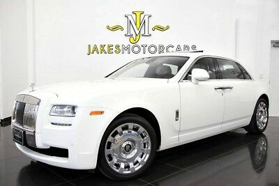 2012 Rolls-Royce Ghost EWB ($354K MSRP!)...REAR CURTAINS~REAR THEATRE 2012 ROLLS ROYCE GHOST EWB, $354K MSRP! EXTENDED WHEEL BASE, WHITE ON WHITE!