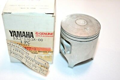 Nos Yamaha Motorcycle 4Th Over Piston 5X2-11638-00 1980-82 Yz80 G H J