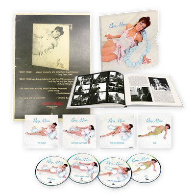 ROXY MUSIC  45th Anniversary 3CD & DVD Box Set signed by Bryan Ferry 500 copies
