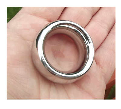C-Ring Glans Head/Shaft STAINLESS STEEL Donut Rings at Cock-a-Hoops - 19 Sizes!