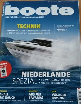 boote 6-2018 Motorboot-Magazin
