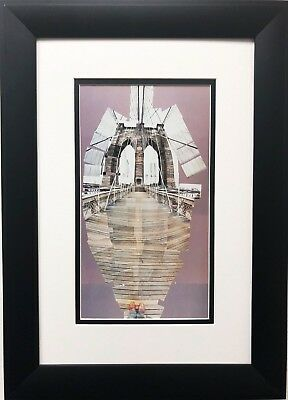 "David Hockney "" The Brooklyn Bridge"" Pop Art New York British"