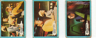 Star Trek 1969 - Lot Of 3 Different Cards - A&BC GUM UK  - 1969