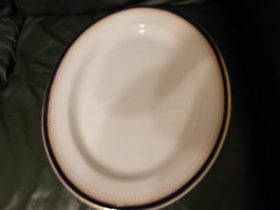 Simpson Potteries Ltd Chinastyle meat / serving plate binbrook