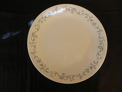 Corelle   Country Cottage  Dinner Plates - 10 1/4  - Set of & CORELLE DISHES Country Cottage White Purple Heart Large Dinner ...