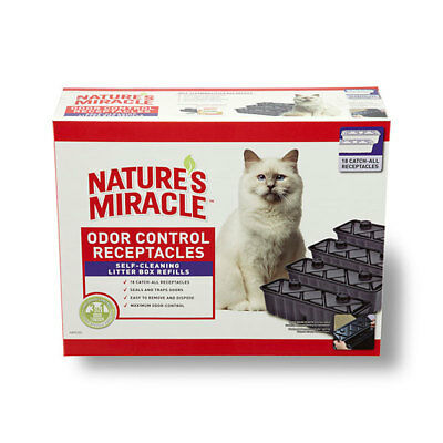 Nature's Miracle Self Cleaning Litter Box Waste Receptacle (18 Pack)