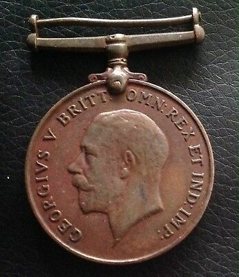 Rare!!!! George V Bronze Medal Awarded To Chinese.