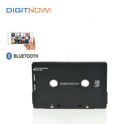 DIGITNOW!Bluetooth Wireless Car Van Cassette Tape Adapter for phone ipod Android