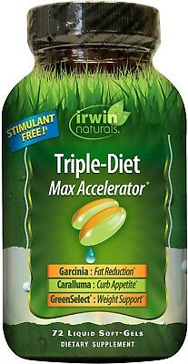Irwin Naturals Triple-Diet Max Accelerator Fat Burner and Appetite Suppressant