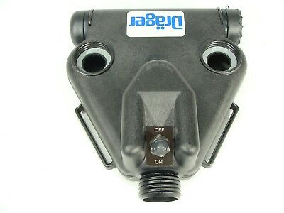 Drager / SafetyTech / Airboss C420 Single Speed PAPR Gas Mask Blower Unit 40mm