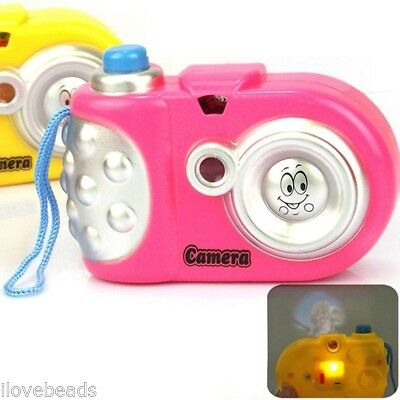 Cute Baby Educational Light Projection 9 Pictures Camera Toy Baby Gift Toy