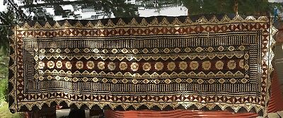 Vintage Tapa Cloth Samoan Ceremonial Wrap Wall Art Pacific Islands Oceania