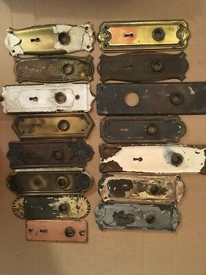 Lot #230 Misc Stamped Back Plates