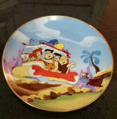 Franklin Mint Heirloom Recommendation The Flintstone's  L.t.d Plate