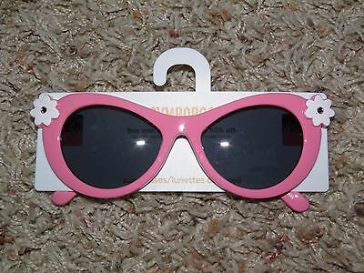 GYMBOREE Pink Flower Sunglasses Ages 4 & Up ~ NEW!