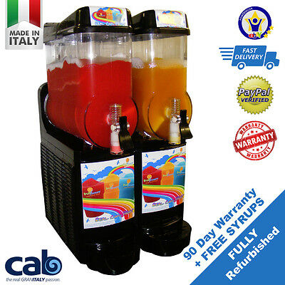 One (1)  Refurbished Slush Slushee Slushy Granita Machines - Start a Business