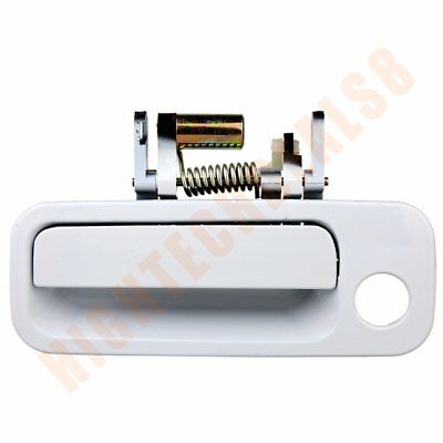 1Pcs  For 97-01 Toyota Camry Door Handle Front Left Drive Outside Exterior White