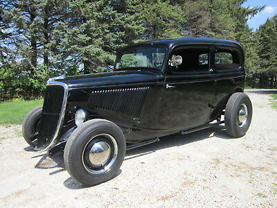 1934 Ford Other Deluxe 1934 Ford 2dr Deluxe Sedan Hiboy Hot Rod Street tudor 33 34 1933
