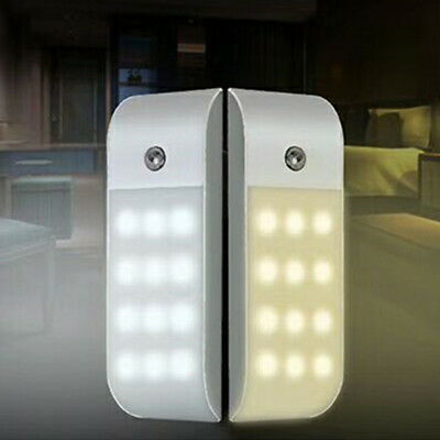 USB Rechargeable 12LED Night Light with PIR Motion Sensor for Closet Cabinet