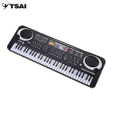 61 Keys Electronic Organ with Microphone for Children - Early Educational Tool