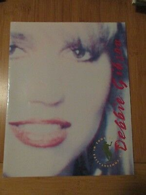 Debbie Gibson Electric Youth 1989 Concert Program