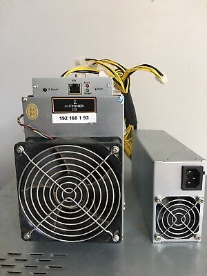 AS NEW ANTMINER D3 19.3GH/S + Bitmain PSU APW3++