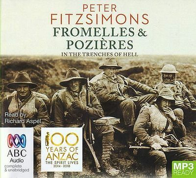 Peter FITZSIMONS / FROMELLES and POZIERES: In the Trenches of Hell [ Audiobook ]