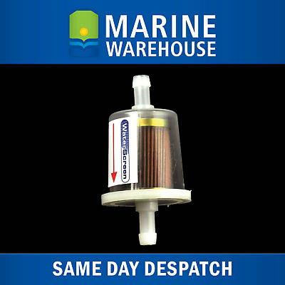 Inline Fuel Filter Evinrude Outboard E-Tec 40HP+ - Replaces OMC 5005266 - 203287