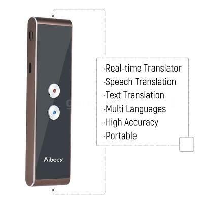 Easy Trans Smart Translator Bluetooth 30Language f/Shopping Learning Travel Gold