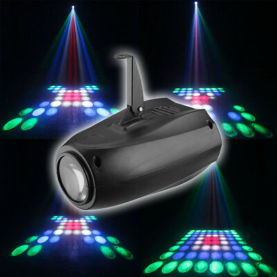 64 LED RGBW Laser Stage Projecteur Lumiere Eclairage Light DJ Disco Fête KTV FR