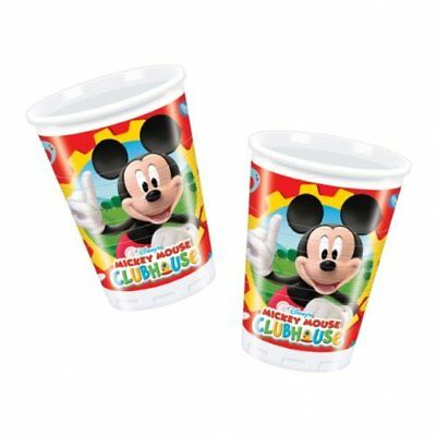 Amscan Bicchiere Mickey Clubhouse 200 ml