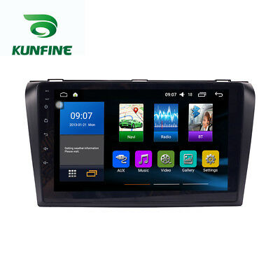 Android 6.0 Quad Core Car DVD Stereo Player GPS Navigation For Mazda 3 2006-2013