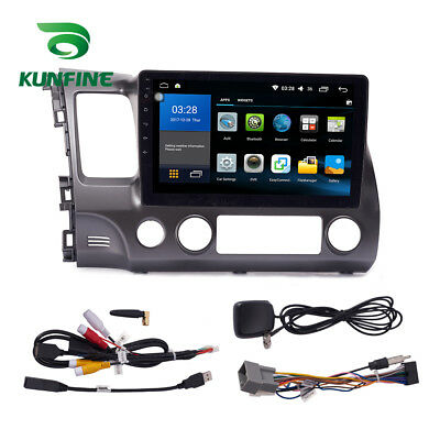 Android 6.0 Quad Core Car DVD Stereo Player GPS Navigation For Honda Civic 04-11