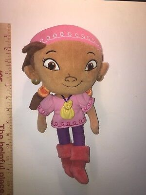 Jake and the Neverland Pirates Izzy Disney Store Plush 12""