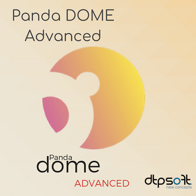 Panda Dome Advanced 2019 1 Gerät / 1 Jahr 1 PC Internet Security 2018 DE EU