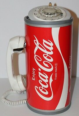 Vintage Paul Nelson Coca Cola Rotary Telephone Coca Cola Coke Can