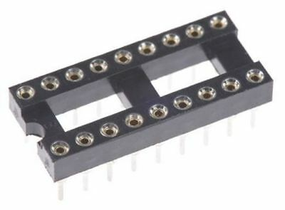 ASSMANN WSW 2.54mm Pitch Vertical 18 Way, Through Hole Turned pin Open Frame IC