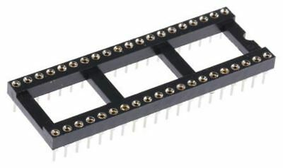 ASSMANN WSW 2.54mm Pitch Vertical 40 Way, Through Hole Turned pin Open Frame IC