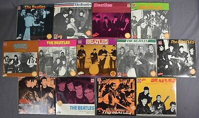 The Beatles 45 rpm Records Lot Collectibles Series British Import Unplayed (13)